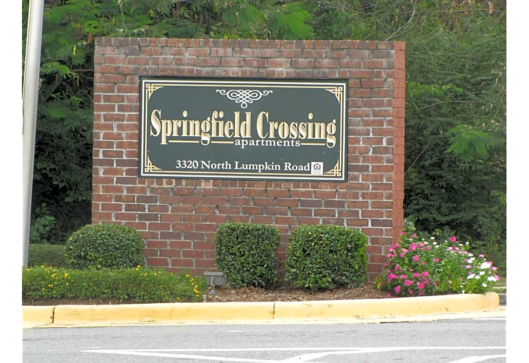 Springfield Crossing Apartments Columbus GA sign
